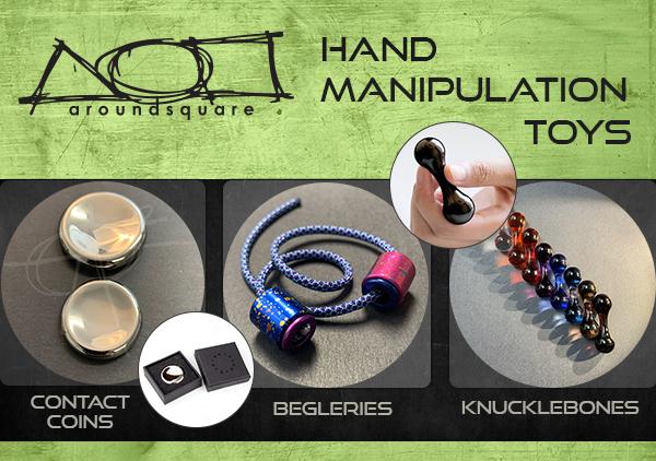 AroundSquare hand manipulation toys