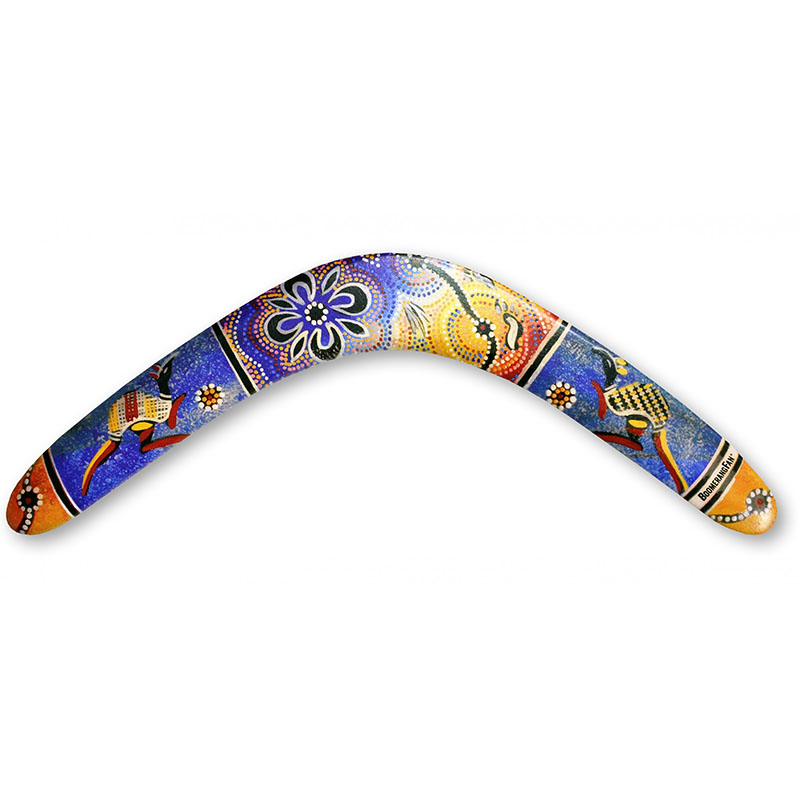 BoomerangFan Aboriginal - (Right Handed)