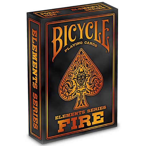 Bicycle Fire Element Playing Card Deck