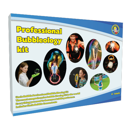 Uncle Bubble Giant Bubbles Wand Pro-Kit. Giant Bubble Fun For Schools - Workshops - Performances