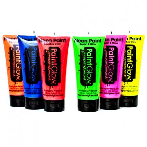 PaintGlow 100ml UV Face Paint
