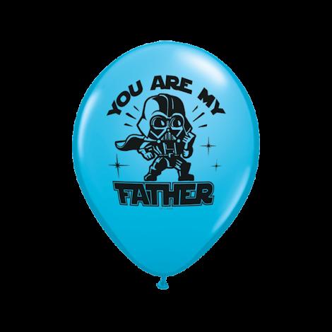 "Qualatex 11"" Star Wars 'Father' Balloons"