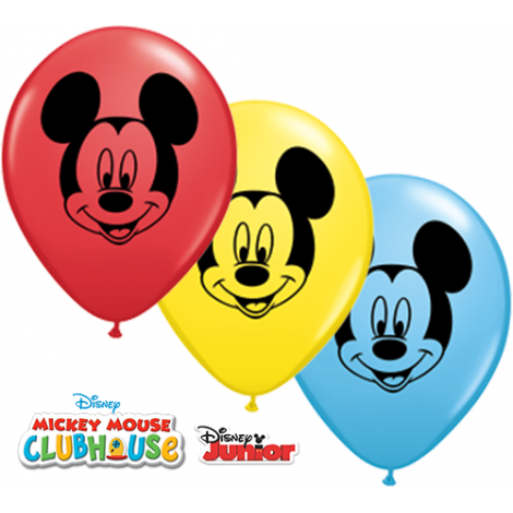 """Qualatex 5"""" Mickey Mouse Balloons"""