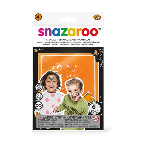 Snazaroo re-usuable Stencils - Halloween
