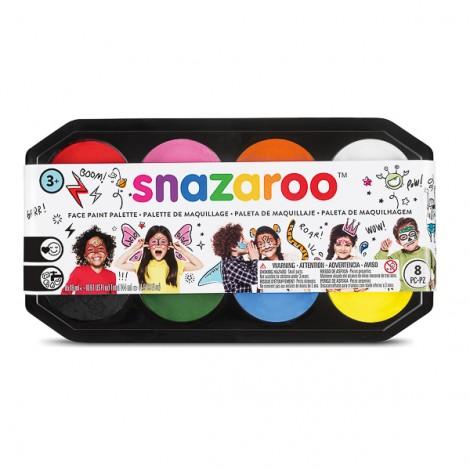 Snazaroo 18ml PALETTE - 8 colours