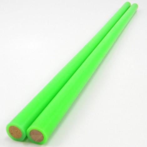 Devil Stick Hand Sticks - 10mm Dowel - 2mm Silicon – Pair