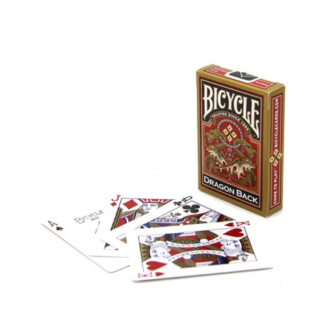Bicycle GOLD Dragon Back Card Deck
