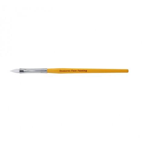Snazaroo Medium Flat Brush - Yellow