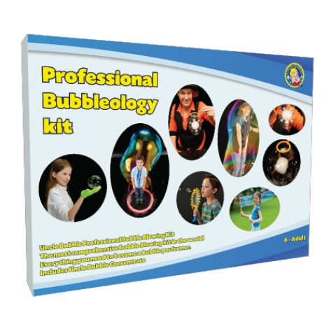 Uncle Bubble Party Supplies | Professional Bubbleology Kit