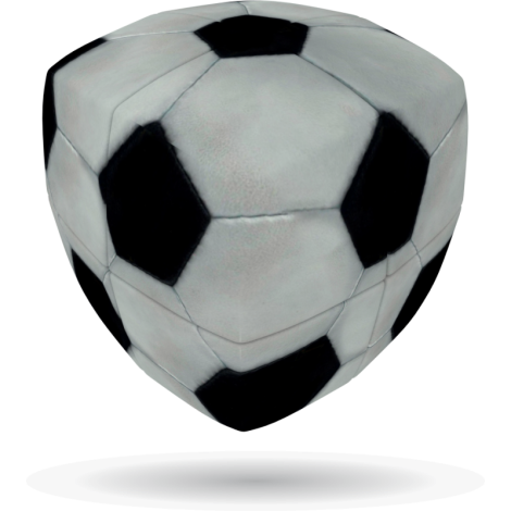 V-Cube FOOTBALL - 2 x 2 Pillow Cube