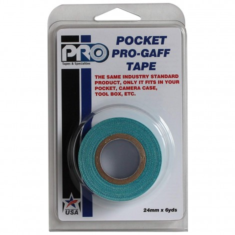 Pro-Gaff Tape 25mm x 5.4m Packaged Roll - Various Colours Available