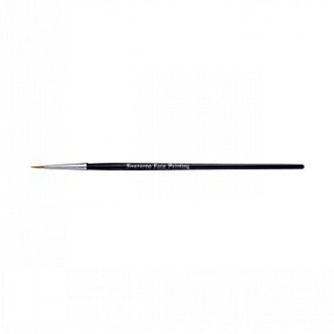 Snazaroo Fine Round Brush - Black