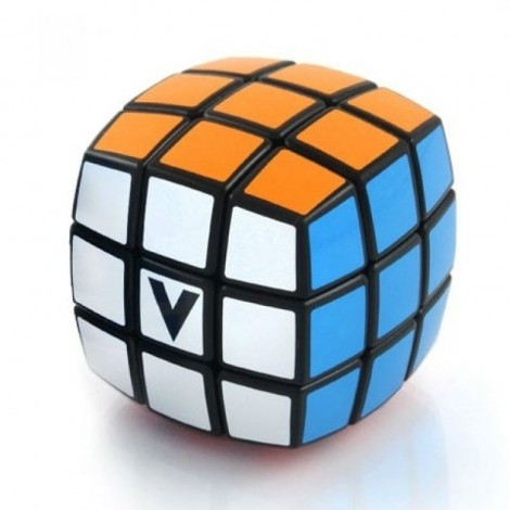 V-Cube 3 x 3 x 3 - Pillow Puzzle Cube - BLACK Variation