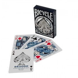 Bicycle MIDNIGHT BLUE Dragon Playing Card Deck