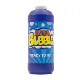 Uncle Bubble Ready-to-use Bubble Solution 236 Mililitres (8 Fluid Ounces). Instant Play Bubble Solution Liquid For Giant Bubble Wands, Bubble Machines, Bubble Blowers. Fun Outdoor Garden Toy