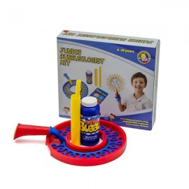 Uncle Bubble Junior Bubble Kit. Bubble Wand with 236 Milliliter Bubble Solution. Kids Bubble Toy