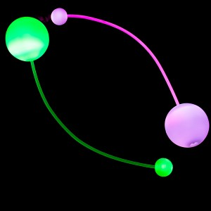 Juggle-Light 100mm LED Contact Poi