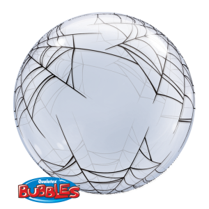 "Qualatex 24"" 'Spider's Web' Bubble Balloon"