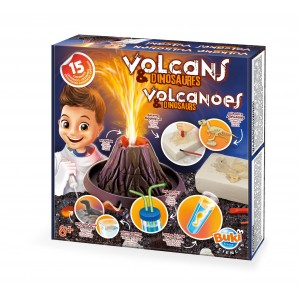 BUKI Volcano & Dinosaurs Science Experiment Kit