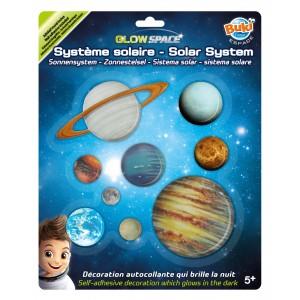BUKI Glow In The Dark Solar System