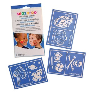 Snazaroo Boy/Adventure Stencils