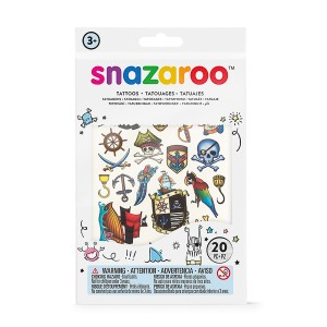 Snazaroo 20pc Temporary  Tattoos - Boys