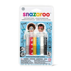 Snazaroo Snaz Face Painting Sticks Set - Adventure
