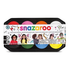 Snazaroo 18ml PALETTE - 8 colours
