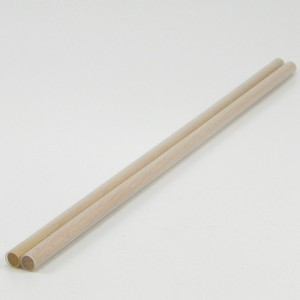 Hand Sticks - 10mm dowel 1mm clear - Pair