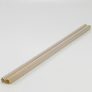 Hand Sticks - 10mm dowel 2mm Clear Silicon