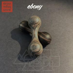 AroundSquare Knucklebone Wood - Ebony