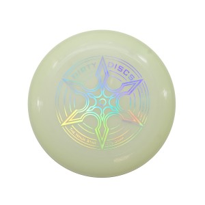 Dirty Disc Ninja Star Sports Disc Frisbee - Lumo / Glow