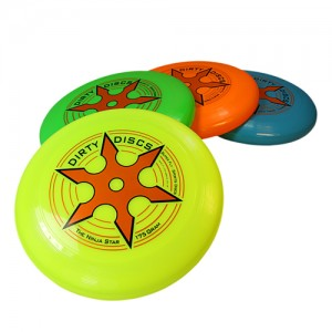 Dirty Disc Ninja Star Frisbee - 175g