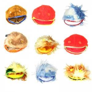 Furry Animal Contact Ball Bags