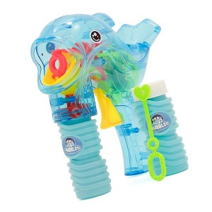 Indy Dolphin Bubble Gun - Various Colours Available