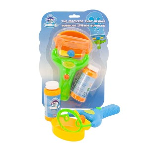 Indy Double Bubble Blower – Bubble Machine - 24pc Case