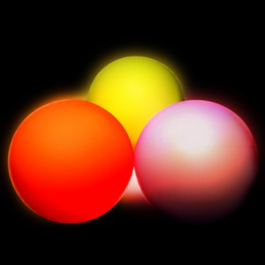 Oddballs 95mm LED Contact Ball  - Multi-function - Twist