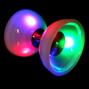 Juggle Dream Lunar Spin LED Diabolo V2