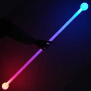 Juggle-Light LED Thick Staff - 'Multi-Light'