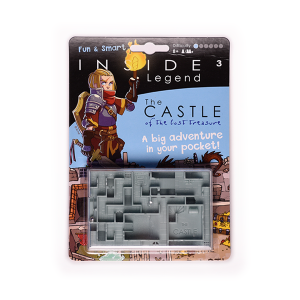 Inside3 Legends Series Handheld Labyrinth Puzzle - The Castle