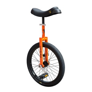 "Qu-Ax Luxus Freestyle Unicycle 20"" - Various Colours Available"