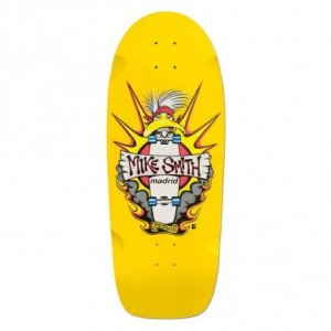 Madrid Skateboards Mike Smith Reissue Deck - 'Yellow Duck' Graphic
