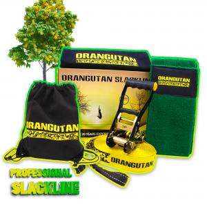 Orangutan Slackline 15m with tree protector