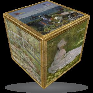 V-Cube Monet - 3 x 3 Puzzle Cube