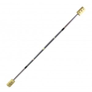Firetoys Fibre3 Contact Fire Staff - 140cm/100mm