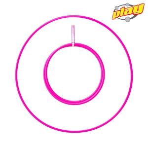 "Play Perfect Travel Hula Hoop Naked - 20mm - 90cm (35.43"")"