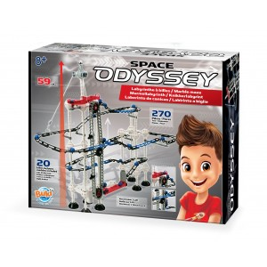 BUKI Construction Kit - Space Odyssey Marble Run