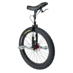 "Qu-Ax QX Muni 24"" Disc Brake Unicycle - Q-AXLE"