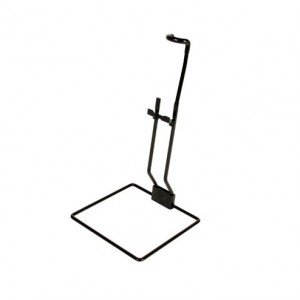 "Black Qu-Ax Unicycle Stand - Fits 20"" Unicycles"