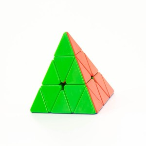 YJ Ruilong Pyraminx Pyramid Puzzle Cube - Stickerless